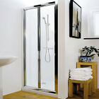 Bi-fold Walk In Bathroom Glass Shower Enclosure Door Screen Panel - All Sizes!