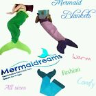 MERMAID BLANKET. SO CUTE , WARM AND FASHION. PERFECT FOR SLEEP OVER OR SOFA TIME