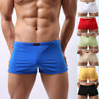 Sexy Underwear Men Boxers Trunks Shorts Underpants Boxer Brief With Penis Pouch