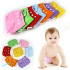 New Infant Reusable Cloth Baby Diaper Nappy Newborn Adjustable All In Popular