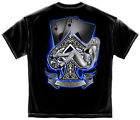Poker Ace UP T-Shirt  Print Both Side Ships Fast