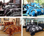 ANIMALS Super King Size Bed Quilt/Doona/Duvet Cover Set New
