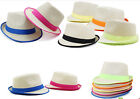 FASHION TRILBY PANAMA STYLE  JAZZ HAT OUTDOOR HAT STRAW HAT MENS LADIES HAT