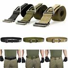 Unisex Tactical Rappelling Downhill Canvas Army Military Belt Adjustable Camping