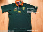 S M L XL XXL 3XL SOUTH AFRICA SPRINGBOKS CANTERBURY RUGBY SHIRT JERSEY NEW
