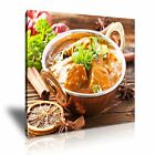 INDIAN FOOD 1 Asian Food & Drink 1S Canvas Framed Printed Wall Art ~ More Size