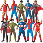 Mens Marvel Avengers Outfit Official Adults Superhero Fancy Dress WAS£20 NOW£10