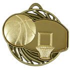 Basket Ball Vortex Medal Achievement Award FREE ENGRAVING With Ribbon AM924