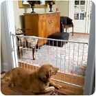 Cardinal Taupe or White  Easy Mount Duragate Pet Dog Gate(MG-25)