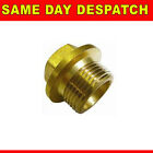 Threaded Male Iron Flange Plug MI Brass BSP Thread Fitting Various Sizes Flanged