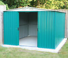 Garden Shed Metal Apex Roof with FREE Foundation Woodside Darlington