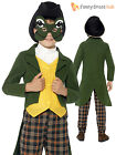 Boys Prince Charming Frog Mr Toad Book Week Day Fairytale Fancy Dress Costume