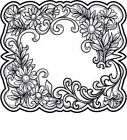 Creative Expressions Pre-Cut Rubber Stamps to Die For SUE WILSON 2015 Clearance