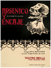 4972.Aresenico y encase.skull in long dress.POSTER.Decoration.Graphic Art