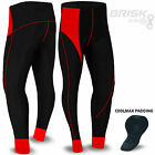 Brisk Men Cycling Trouser Tights Pant Thermal inner padded