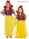 Age 2-8 Girls Snow White Princess Fancy Dress Costume Kids Fairytale Book Week