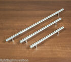 10 x CHROME T BAR KITCHEN CABINET DOOR HANDLES CUPBOARD DRAWER FURNITURE 3 SIZES