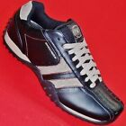 NEW Mens SKECHERS URBANTRACK FORWARD 50661 Black Leather Fashion Sneakers Shoe