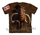 Child MAMMOTH The Mountain T Shirt Dinosaur All Sizes From 4 -14 Years 15-3419