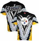 Pittsburgh Steelers V-Dye Liquid Blue T Shirt   SHIPS SAME DAY