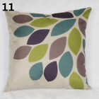 Fashion Linen Throw Pillow Cases Home Decorative Cushion Cover Nature Tree