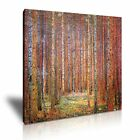 Gustav Klimt Tannenwald I 1901 Forest Canvas Modern Home Office Wall Art Deco
