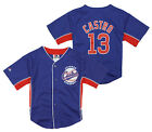 Majestic MLB Toddler Chicago Cubs Starlin Castro # 13 Player Jersey - Blue