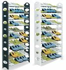 10 Tier 50 Pairs Adjustable Shoe Storage Rack Organiser Shelf