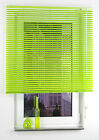 Alu Jalousie Aluminium Lamelle Fenster Rollo Jalousette 120 x 160 cm Apple Green
