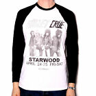 MOTLEY CRUE T SHIRT - STARWOOD RETRO LONG SLEEVE 100% OFFICIAL CLASSIC 80'S ROCK