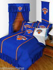 New York Knicks Comforter Bedskirt & Sham Twin Full Queen King Size
