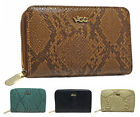Fashion New Ladies Faux Leather SnakeSkin Zip Small Coin Purse Womens Wallet Car