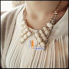 C8 Womens Necklace Fashion Multi-color Electroplating  Alloy Lady Party Necklace