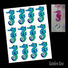 Transparent film #70 SEAHORSE 70mm BLUE transparency 3D for suncatcher etc