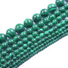 4,6,8,10,12,14,16,18,20MM NATURAL Malachite Gemstone Round Loose Spacer Beads