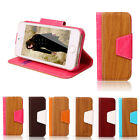 Wallet Holder Flip Pu Leather Stand Cover Case for Iphone 5/ 5g