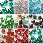 30pcs Glass Crystal Faceted Ball Spacer Beads Loose Bead Jewelry Findings 6mm