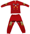 Iron Man Children Kids Boys Nightwear Outfit Top + Trouser Sleepwear Pajama 2-7Y