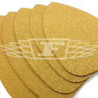 5 PACK MOUSE SANDER SHEETS YELLOW ALUMINIUM OXIDE COARSE SANDING 741988