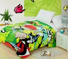 New Baby Boy girl Soft Velour Blanket 150x200cm/200x230cm cartoon collections