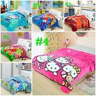 New Quality Baby Boy girl Soft Velour  Blanket 150x200cm cartoon collections
