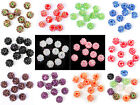 12/14/16mm  Disco Ball Rhinestones Acrylic Spacer Beads Jewelry Findings,10pcs