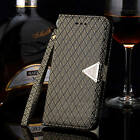 Luxury Waterproof Stand Wallet Leather skin Flip Cover Case For iPhone 6 /6 Plus