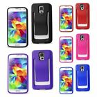 REIKO Polymer Belt Clip Rugged Shockproof Case Cover Skin for Samsung Galaxy S5