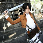 Unisex New Cosplay Attack on Titan no Kyojin Recon Corps Coats Jacket Costume