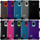 Shockproof Hybrid Heavy Duty Case Cover+Belt Clip For Samsung Galaxy S6 Note 3 4