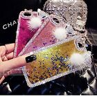 S*ACT Glossy  Glitter Quicksand and Liquid crystal Case for phone 5 6 plus 5.5