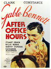 5414.After office hours.gable.bennett..POSTER.Decoration.Graphic Art