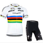 Cycling Bike Short Sleeve Clothing Wear Bicycle Sports Jersey Shorts Set