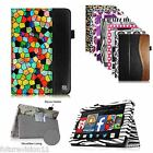 Amazon Kindle Fire HD 7 4th Gen Tablet (2014 Oct Release) Leather Case Cover